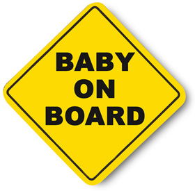 Baby on board sign Charlotte Criminal Defense DUI DWI Lawyer Attorney.jpg