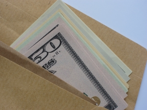 Cash in envelope Charlotte DWI Lawyer North Carolina Criminal Defense Attorney.jpg