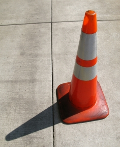 Traffic Cone Charlotte DWI Lawyer North Carolina Criminal Defense Attorney