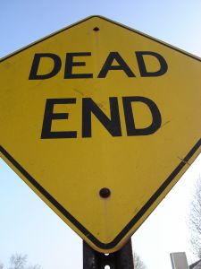 Dead End Sign Charlotte DWI Lawyer North Carolina DUI Attorney