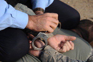 Handcuffing Charlotte Criminal Attorney North Carolina Defense Lawyer