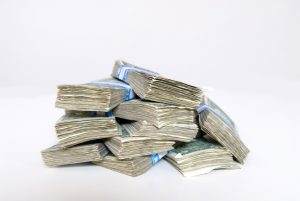Stacks of cash Charlotte Criminal Lawyer