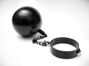 ball-and-chain-Charlotte-Criminal-Lawyer-Lake-Norman-Defense-Attorney-300x225