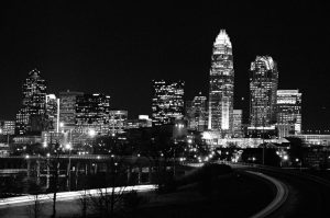 charlotte-nc-at-night-Criminal-weapons-charges-defense-Lawyer-300x199